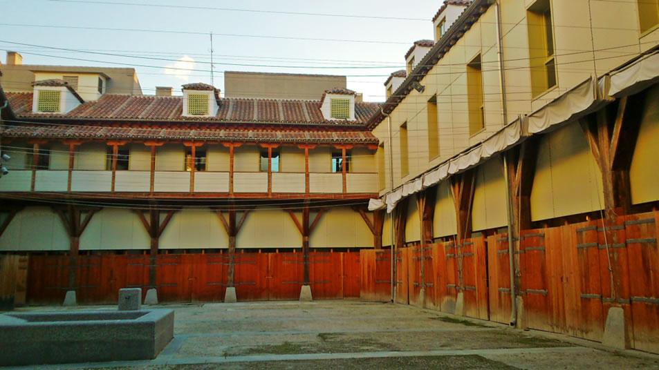 Vista del patio de la Corrala, actual MuseoATP-UAM. Foto: MuseoATP